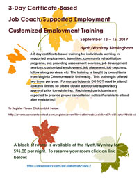 Job Coach Training 2017